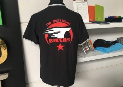T-Bikers zeefdruk
